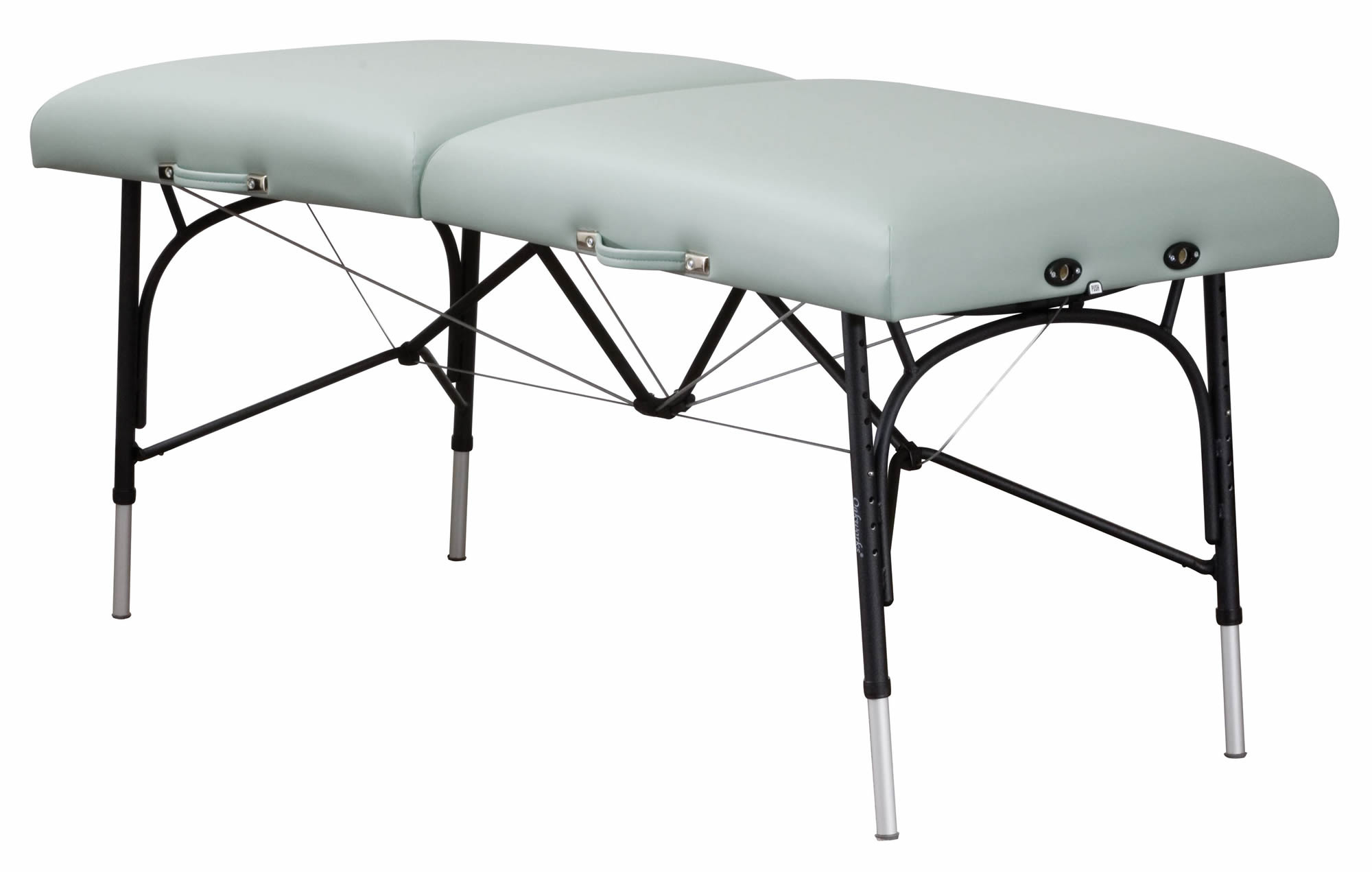 Massage table portable massage tables oakworks wellspring for Massage table