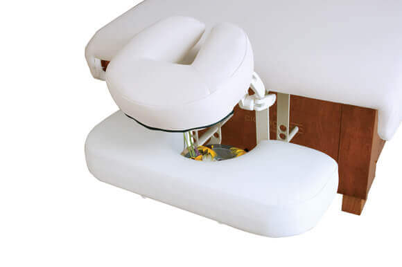 Lowered Arm Rest Shelf with Aromatherapy