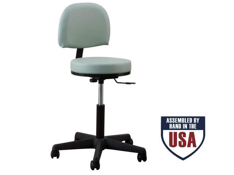 Premium Stool with Backrest-Low Height Range